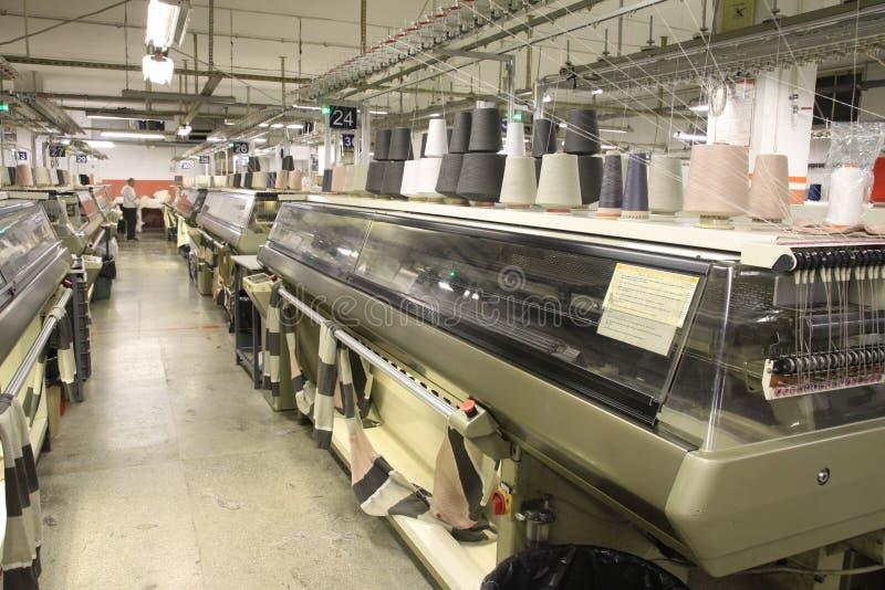 机械纺织品 免版税图库摄影