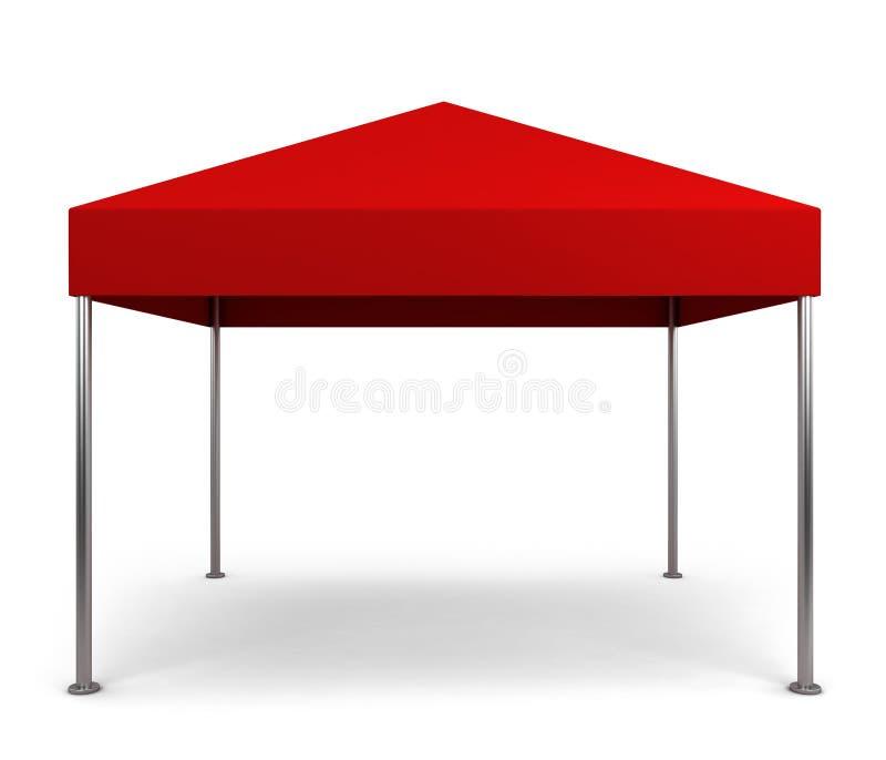 机盖帐篷 向量例证