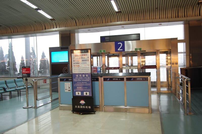 登机门 免版税库存照片