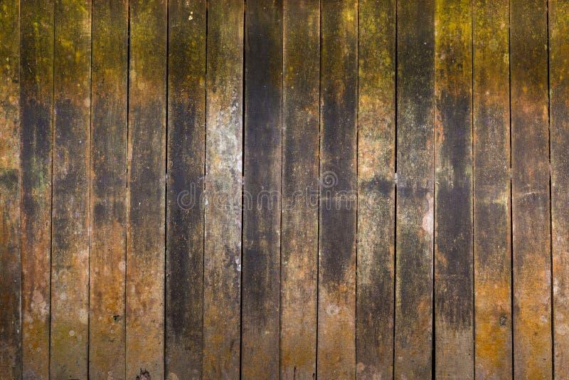 朽烂木头背景老村庄墙壁表面上的 库存图片
