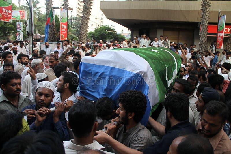 杀害巴基斯坦 库存图片