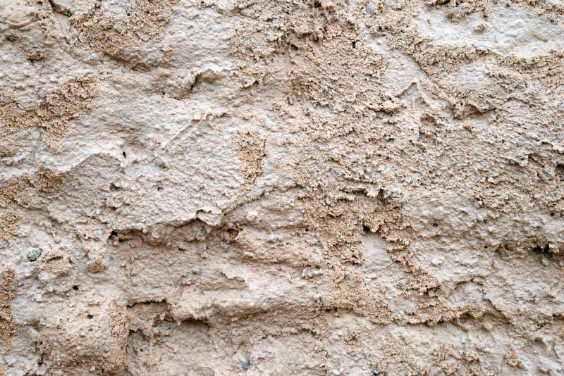 杂乱水泥墙壁纹理 库存照片