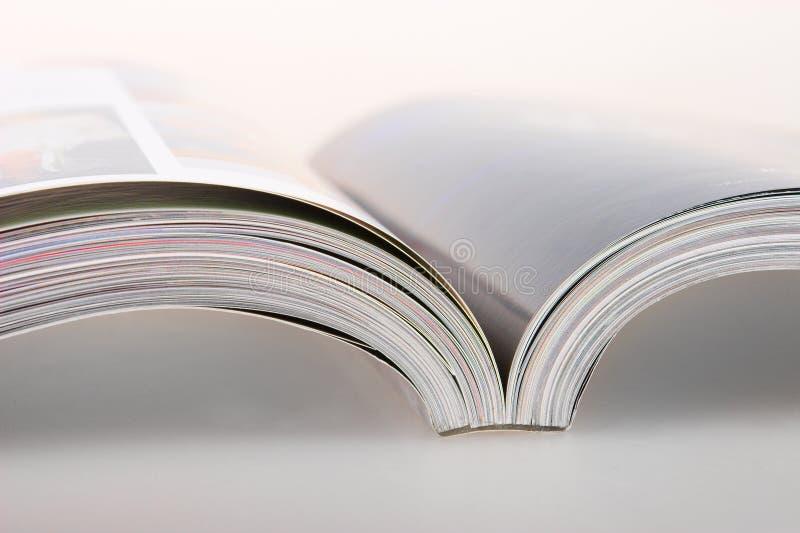 杂志关闭 免版税库存图片