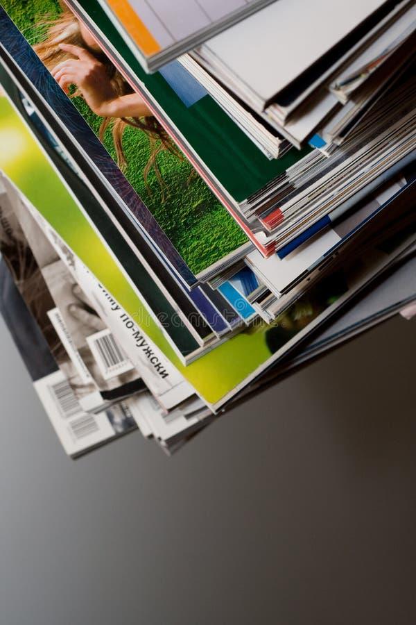 杂志装箱 免版税库存图片