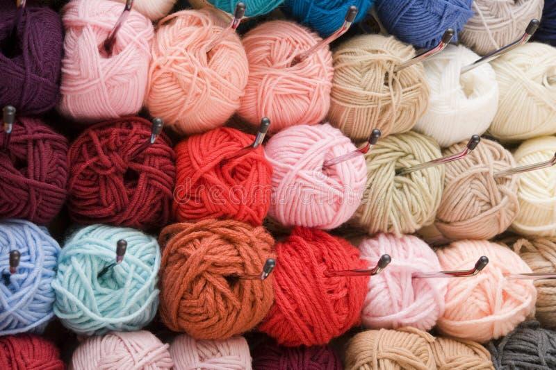 杂色羊毛 免版税库存图片