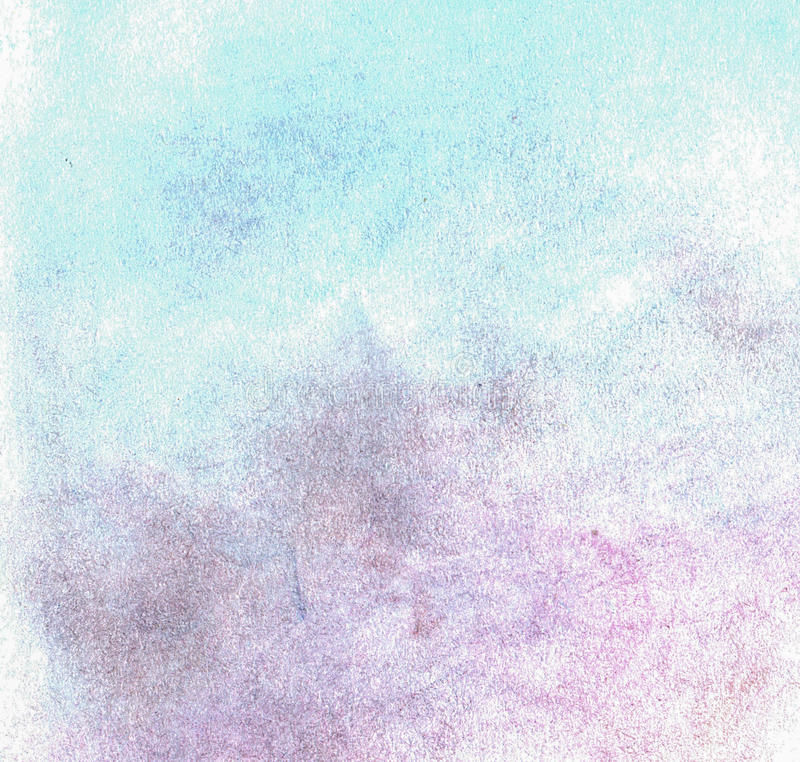 杂色铅笔轨道在纸的 免版税库存图片