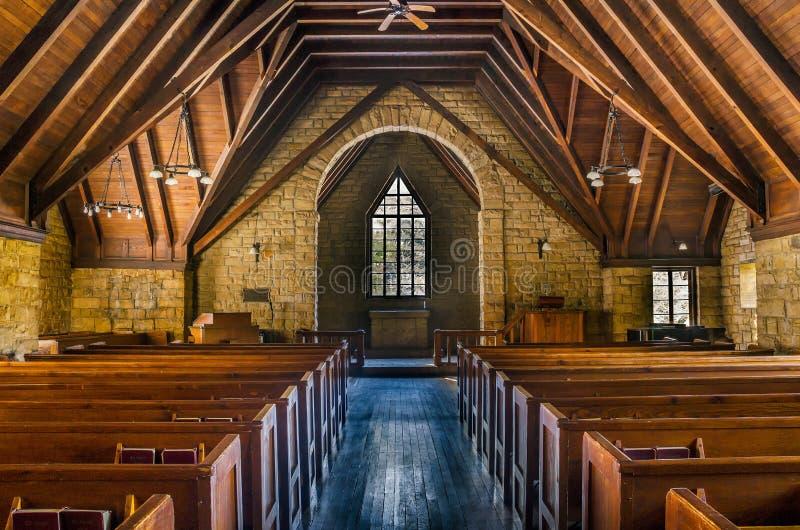 杉木山教堂,肯塔基 库存图片