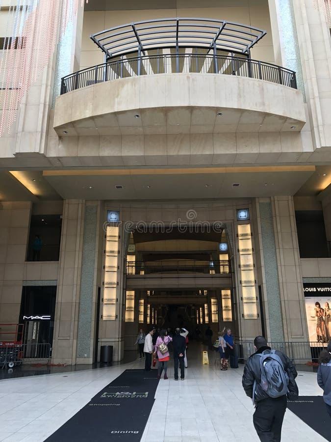 洛杉矶- 2月21 :在杜比剧院的奥斯卡准备, 2017年在好莱坞,洛杉矶,加利福尼亚 库存照片