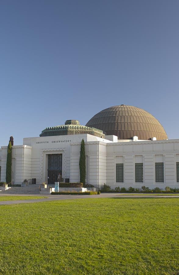 洛杉矶-美国, 10月, 3日:格里菲斯观测所在顶部 库存图片