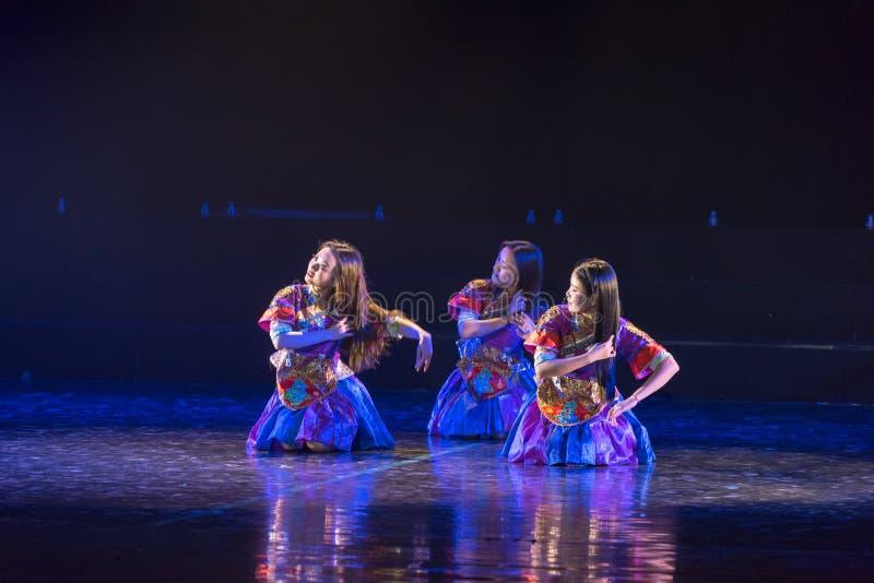 李巴恩舞蹈2丁香舞蹈戏曲 库存照片