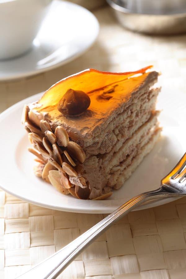 杏仁蛋糕 库存图片