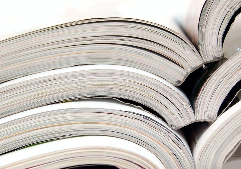 材料读 免版税库存照片