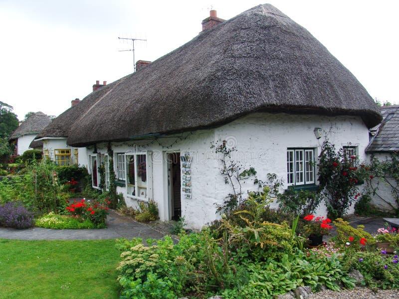 村庄典型的爱尔兰 免版税库存照片