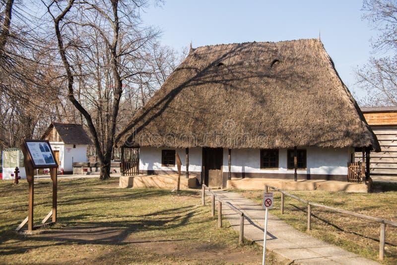 村庄博物馆(Muzeul Satului) 免版税库存照片