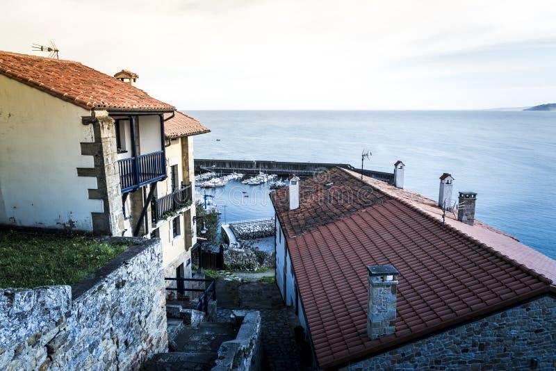 村庄在Asturies 免版税库存图片