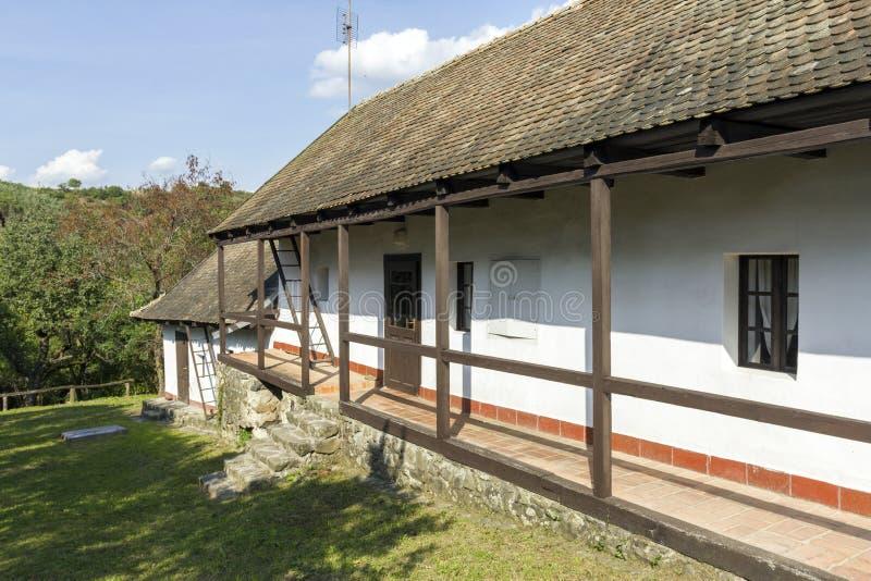 村庄房子在Holloko 库存照片