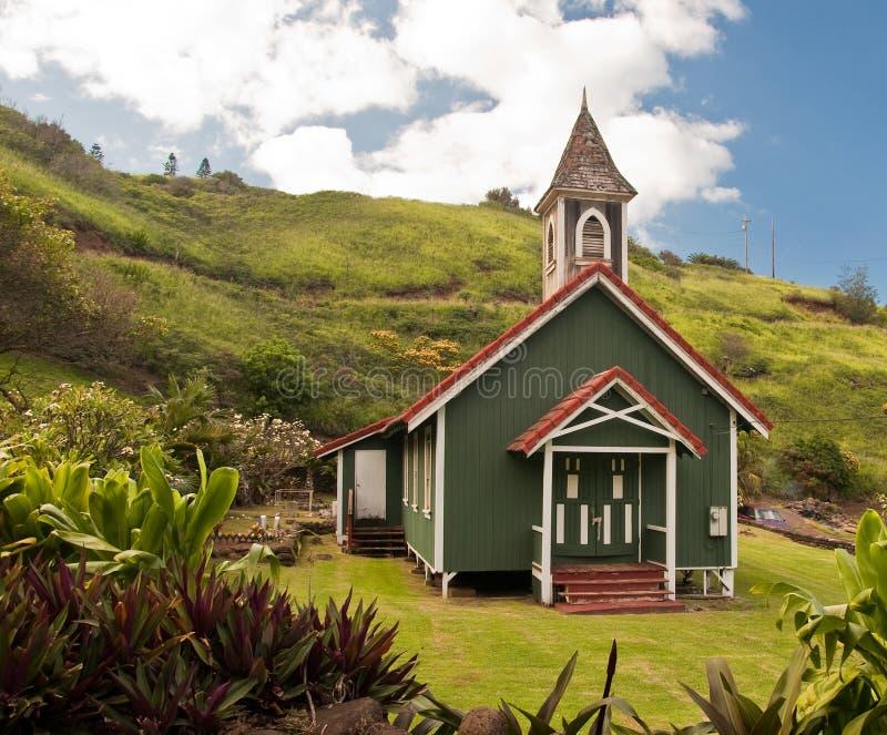 村庄教会 免版税库存图片