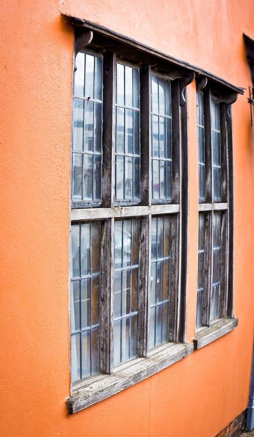 村庄窗口 库存图片