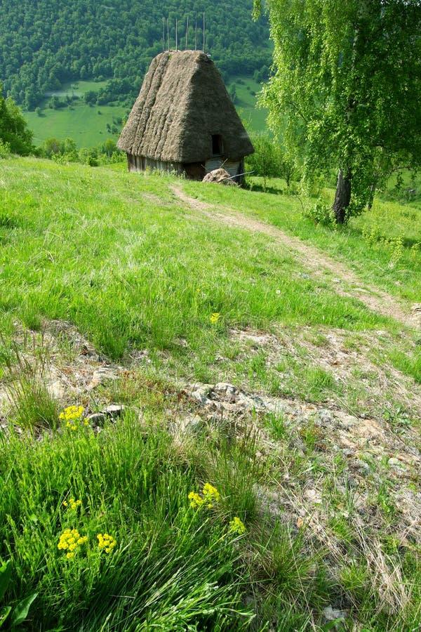 村庄罗马尼亚传统 免版税图库摄影