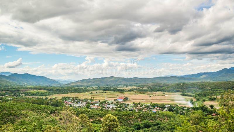 村庄自然 库存图片