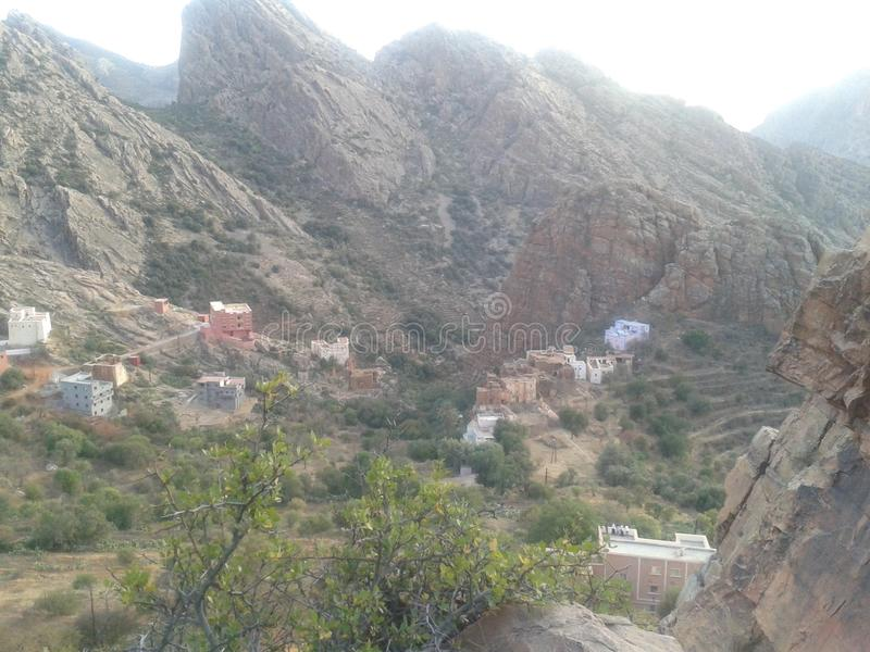 村庄 免版税图库摄影