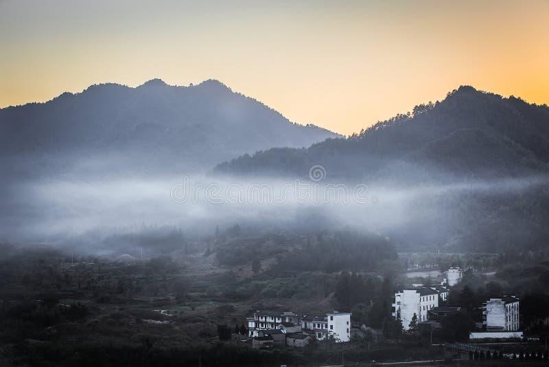 村庄setsun 免版税库存照片