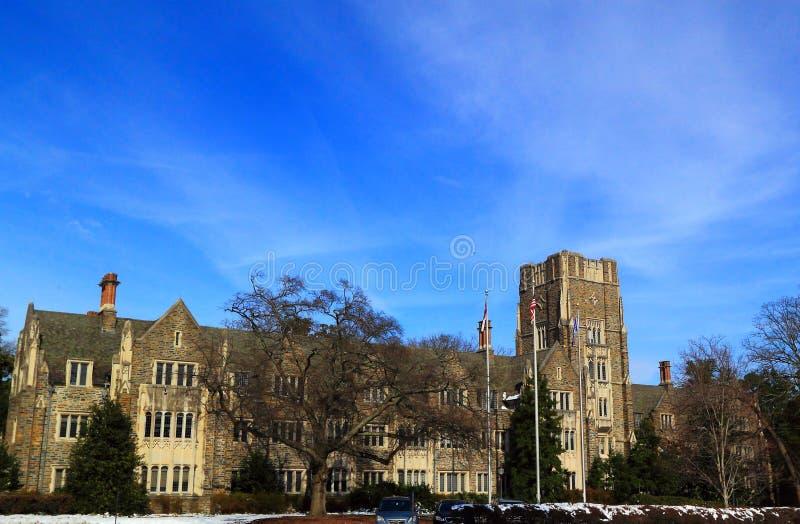 杜克大学学校公寓 免版税图库摄影