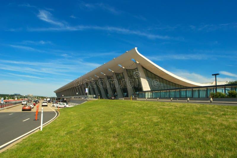 杜勒斯国际机场 免版税图库摄影