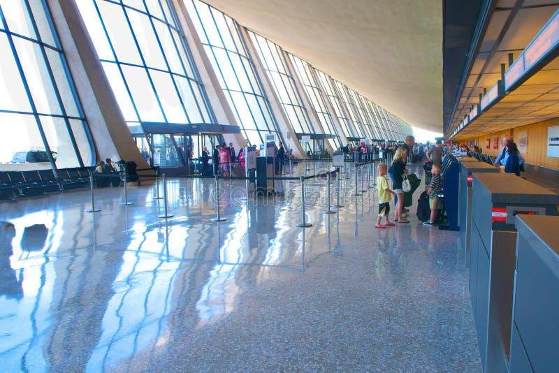 杜勒斯国际机场 库存图片
