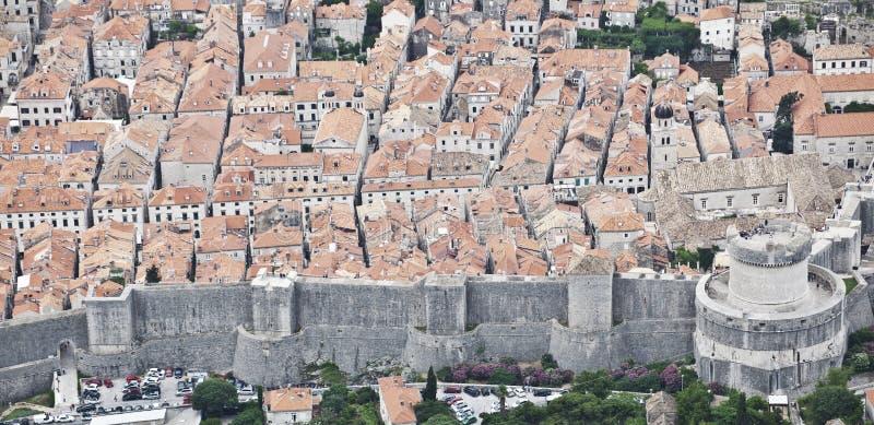 杜布罗夫尼克市老城镇 杜布罗夫尼克市 克罗地亚 免版税库存图片