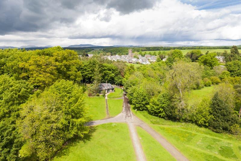 杜恩,Stirlingshire,苏格兰 库存照片