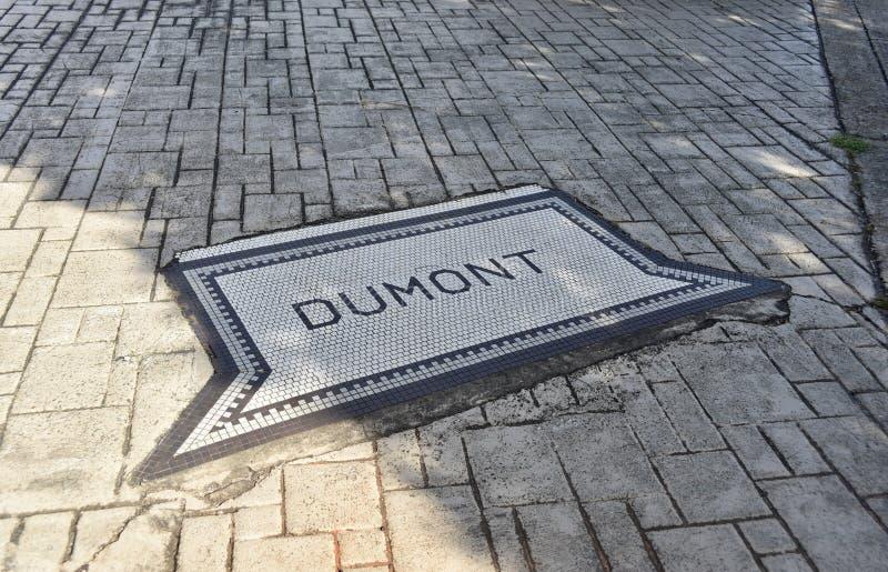 杜蒙公园子午密西西比 库存照片