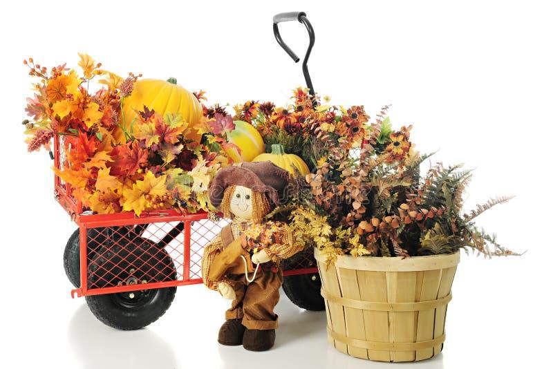 束和束秋天颜色 免版税库存照片