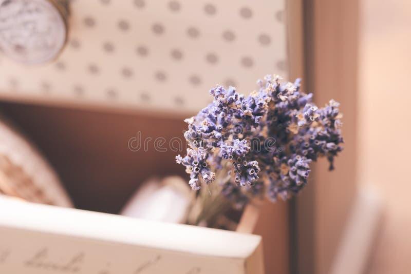 束干淡紫色 免版税图库摄影