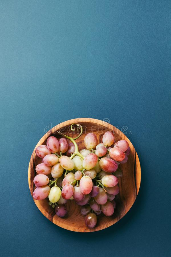 束红葡萄 免版税库存图片
