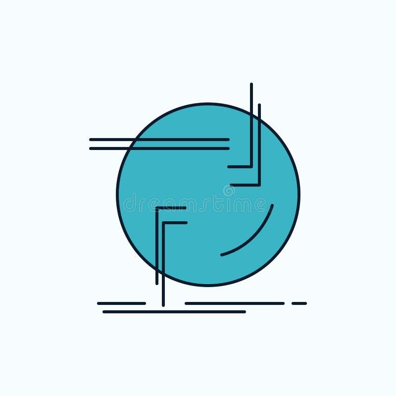 束缚,连接,连接,链接,导线平的象 r ?? 库存例证