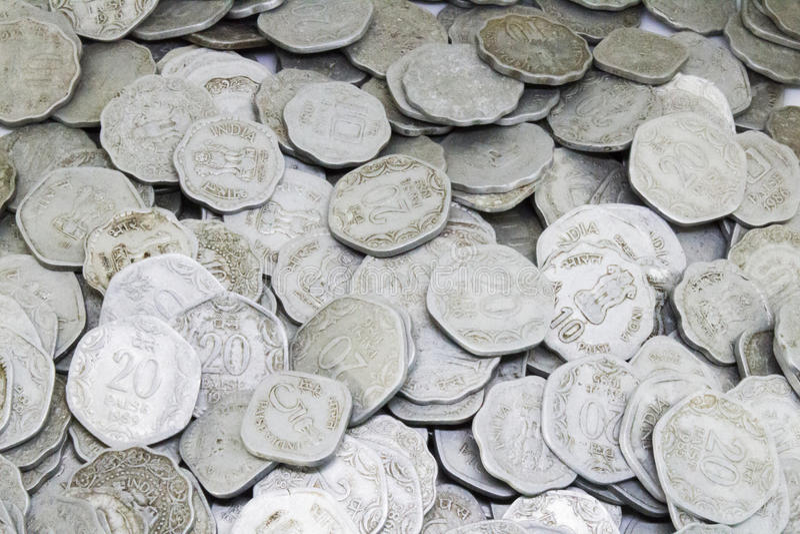 束老印地安硬币 库存照片
