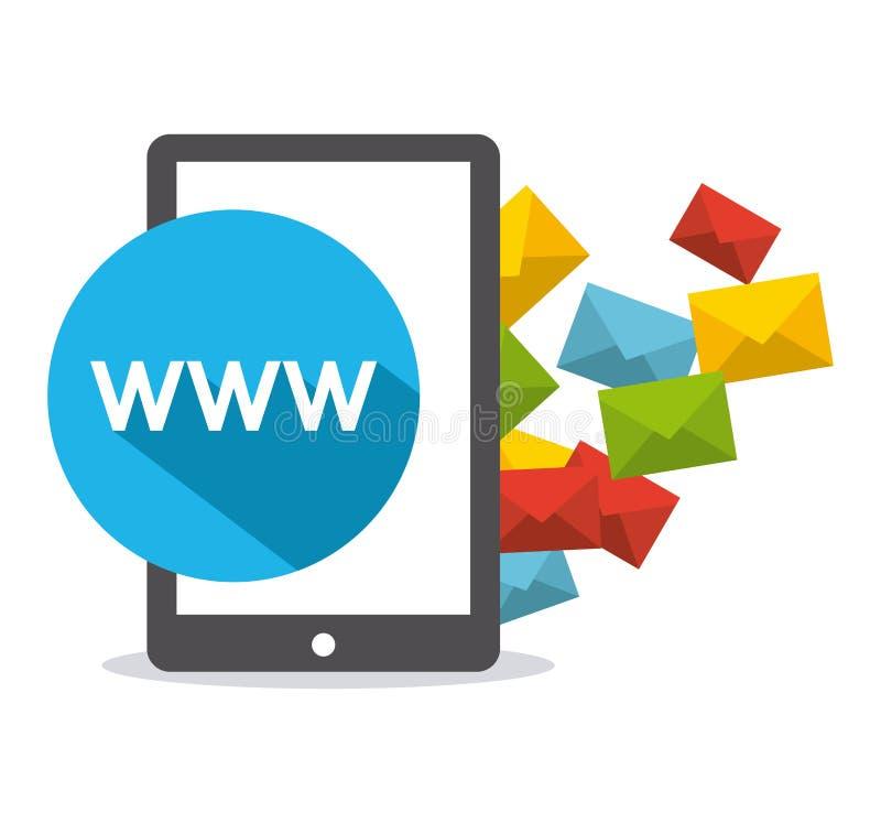 Download 束起通信有概念的交谈媒体人社交 向量例证. 插画 包括有 媒体, 符号, 电子邮件, 概念, 片剂, 网络 - 59100411