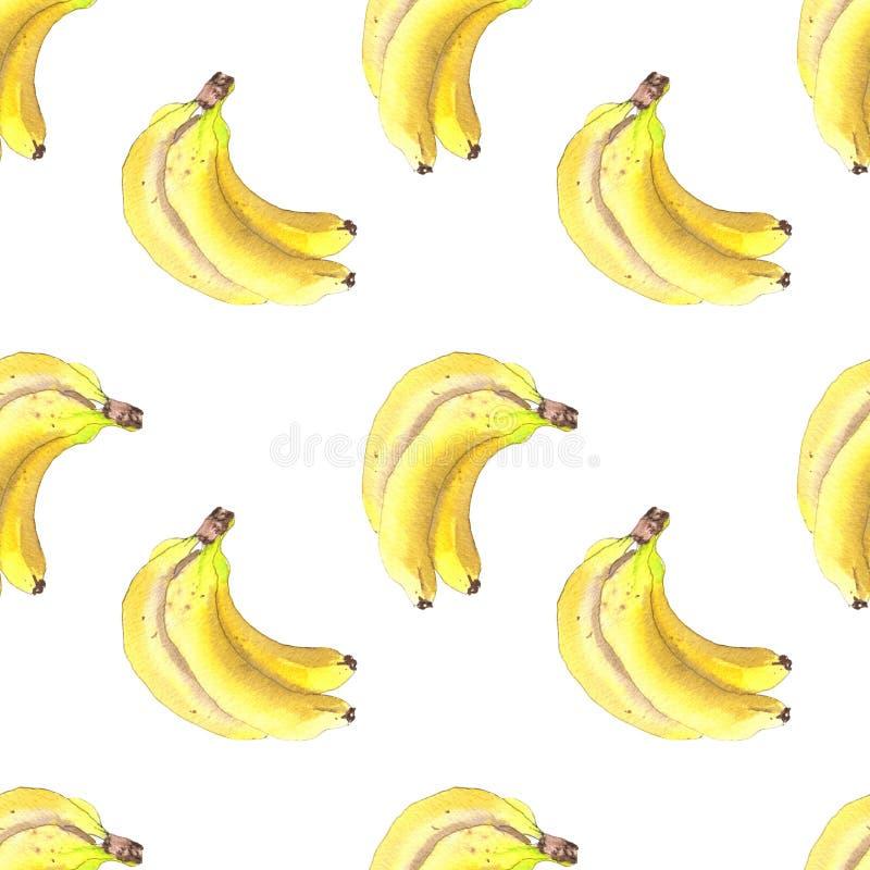束香蕉样式 库存例证