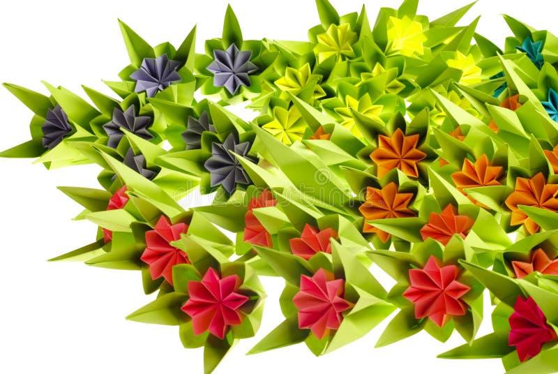 束origami 免版税库存照片