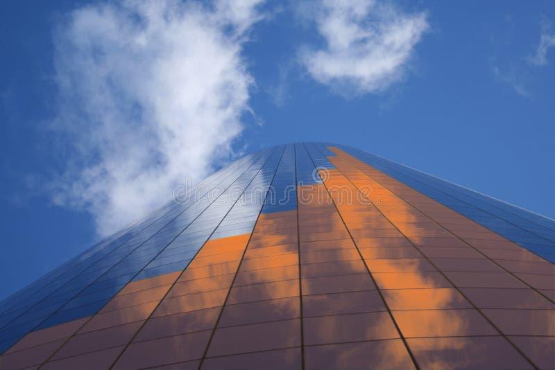 条形图摩天大楼 向量例证