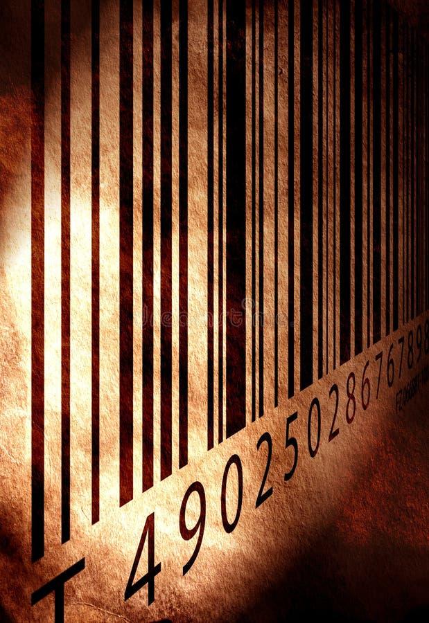 条形码标签 皇族释放例证