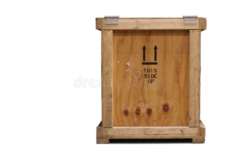 条板箱木头 库存图片