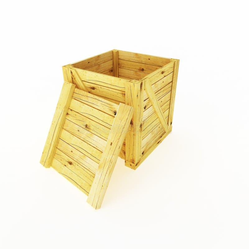 条板箱 库存例证