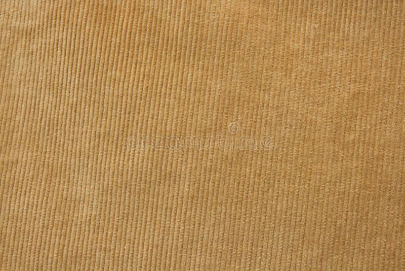 条绒织品纹理 库存照片