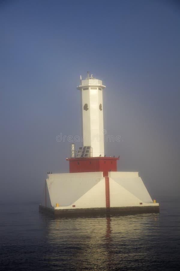 来回海岛的段落 免版税库存图片
