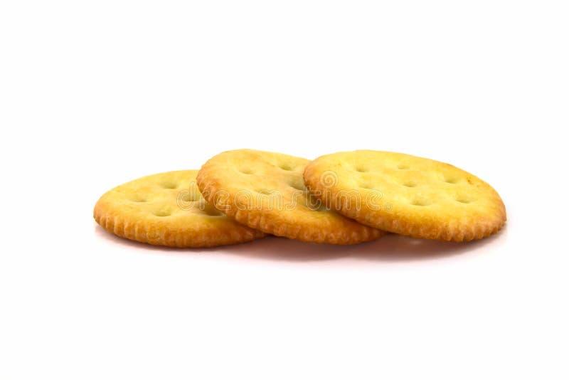 来回的薄脆饼干 库存图片