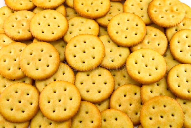 来回的薄脆饼干 免版税图库摄影