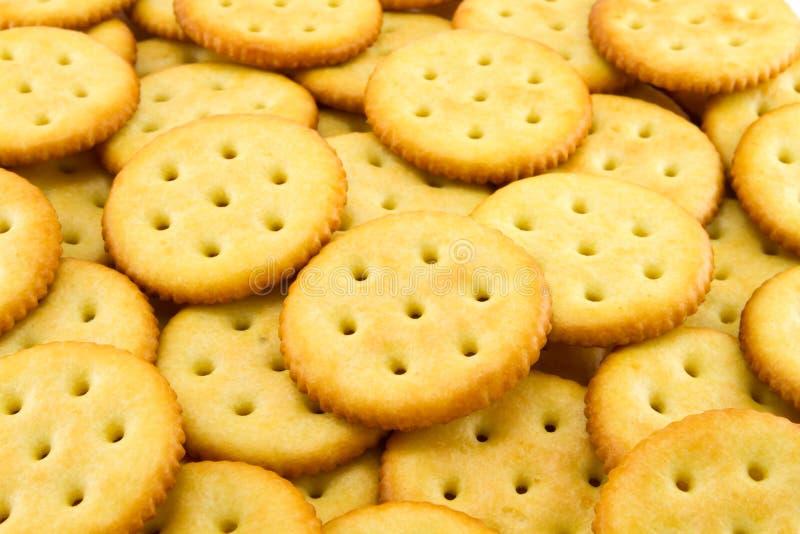 来回的薄脆饼干 免版税库存图片