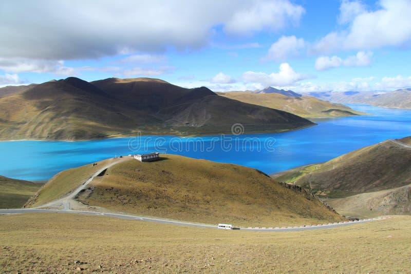 杨虎队西藏中国 库存照片